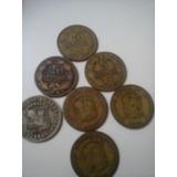 Monedas De Estados Unidos De Venezuela Del Año 1944de 5 Cent