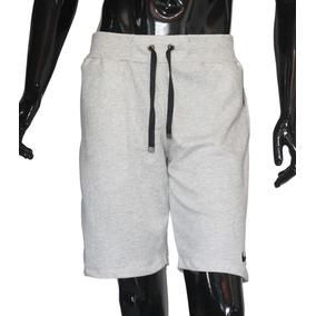 Shorts Moletom Masculina Bermuda Nike Academia Esporte