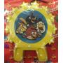 Vela Aniversario Tema Angry Birds Amarela
