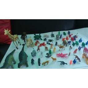 Dinosaurios Y Animales Por Lote