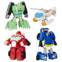 Transformers Rescue Bots Heatwave Chase Blades Construction