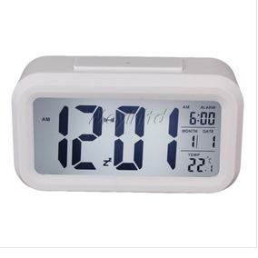 8615494de19 Relógio Digital De Mesa Parede Portatil Único Com Luzled Lcd