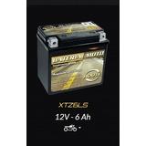 Bateria Moto Route Xtz6ls Dafra Super 100 * 6 Ah *