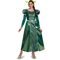 Fiona Traje Adulto De Lujo De Las Mujeres Disfraz, Verde, G