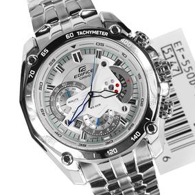 Relógio Casio Edifice Branco Ef 550 Red Bull