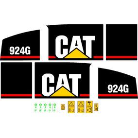 Jogo De Adesivos Caterpillar Cat 924 G
