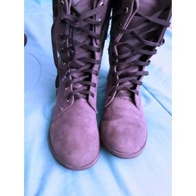 Botas Botines Grises 24 Zapatos Dama Mujer Ropa Vestidos