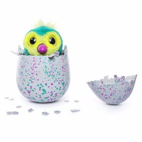 Hatchimals Huevo Mascota Pengualas Color Verde Y Violeta Tv