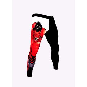 Calça Leg Academia Masculina Legging Compressão Fitness
