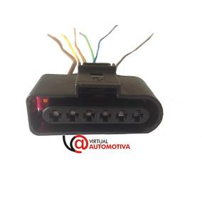 Soquete Plug Conector Chicote Bobina Ignição Gol G5 6 Vias