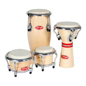 Stagg Bcd N Set Kit Mini Bongo Conga Djembe