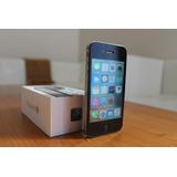 Iphone 4s 16gb Negro- Libre Fábrica- 30 Días Gar- Igual Nue