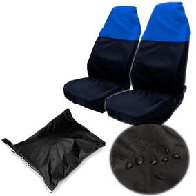 2 X Universal Nylon Impermeable Asiento Delantero... (blue)