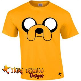 Playera Dibujos Animados Jake Adv. Time Tigre Texano Design