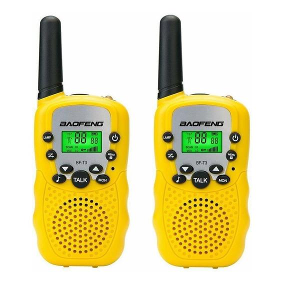 Handy X 2 Baofeng Bf-t3 Radio Walkie Talkie Uhf 22 Canales