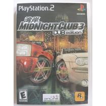 Midnight Club 3 Ps2 Game - Frete Grátis