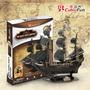 Quebra Cabeça 3d The Queen Annes Revenge 155pç Navio Pirata
