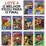 Coleção Seriados De Cinema Antigos - Lote 4 - 10 Títulos