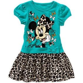 Vestido Minnie Americano Talla 5 Años