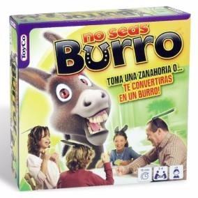 No Seas Burro Juego De Mesa Toyco