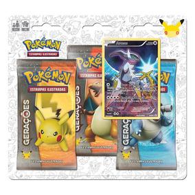 Pokemon Blister Triple Pack Geracoes - Arceus Copag Da Amazo