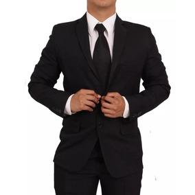 Terno Masculino Slim Fit 2 Botões Em Oxford Black Fridey!!!