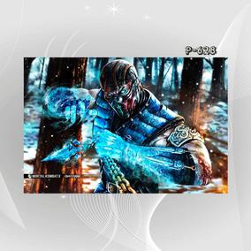 Poster Filme Game Mortal Kombat K5r X Decorativo Wall Casa