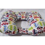 Almofada / Travesseiro Protetora Pescoço De Bebê E Criança