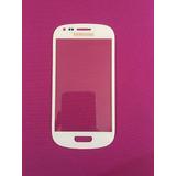 Touch Screen Glass Samsung Galaxy S3 Mini I8190 Blanco