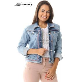 Jaqueta Jeans Sawary C/ Lycra