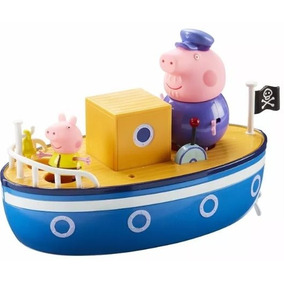 Barco Do Vovô Pig - Acompanha Bonecos Peppa E Vovô Pig 078