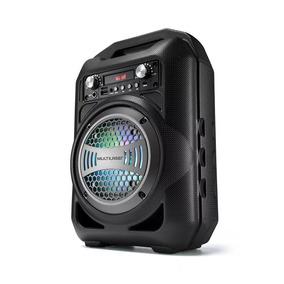 Caixa De Som Amplificada 40w Rms Led Bluetooth Sd Pendrive