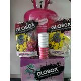 50 Globos Látex + Cinta 45 Mtrs+garrafa Helio Grande Globox