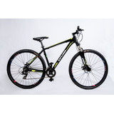 Bicicleta Mountain Explorer Rod 29 Aluminio Shimano Disco 24