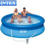 Pileta Intex Easy Set Ø305cms 3850lts ¡¡ Bomba Filtrante !!