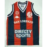Camiseta De Basquet De Niño San Lorenzo De Almagro