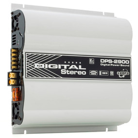 Módulo Amplificador Boog Dps 2900 1800w Rms 2 Canais 2 Ohms