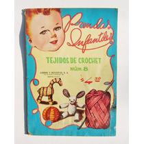 Revista Prendas Infantiles Tejidos De Crochet Revista 1953