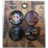Pines Prendedores Hard Rock Cafe (precio X 4 Unidades)