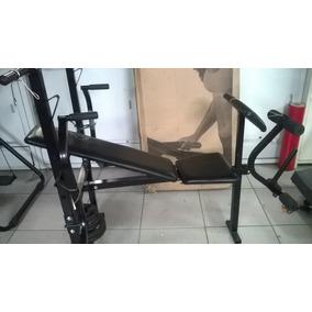 Estação/aparelho De Musculação Polimet Com 3 Exercícios