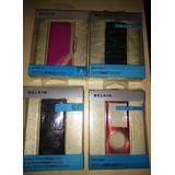 Kit 4 Capinhas Silicone/couro - Belkin Ipod Nano