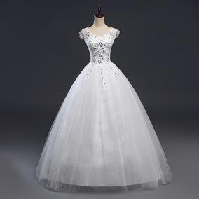 Vestido Princesa Brilho 15 Anos Debutante Vermelho Ou Branco