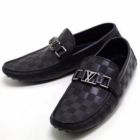 Sapato Mocassim Louis Vuitton Couro Legítimo Masculino