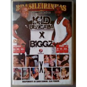 Dvd Pornô Brasileirinhas : Kid Bengala X Biggz ( Original )