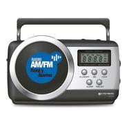 Radio Digital Am Fm Portatil Stromberg A Pila Batería Y 220v