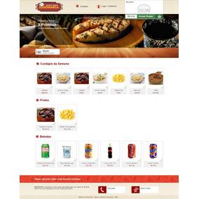 Sistema Delivery Web Para Montagem De Marmitex
