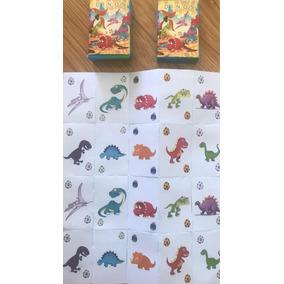 Cartas Naipes Memotest Dinosaurios Dinos Mundomatok