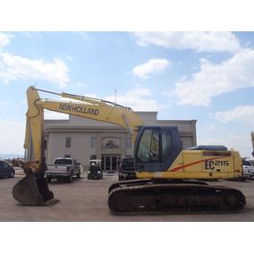 Excavadora De Orugas New Holland Modelo Ec215 Año 2000