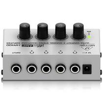 Amplificador Ultra Para Audifonos Compacto Behringer Ha400