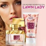 Amodil Set Perfume + Crema Corporal Perfumada Lawn Lady
